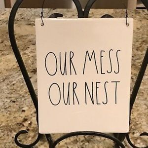 Rae Dunn our mess our nest